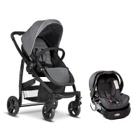 "Graco Evo Trio Travel System ""Charcoal"""