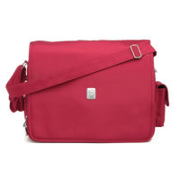 "Ryco Deluxe Messenger Bag ""Red"""