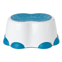 Bumbo Step Stool - White & Blue