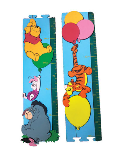 Disney Pooh Balloon Growth Chart