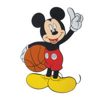 Disney Mickey Basket Balls Foam DŽcor