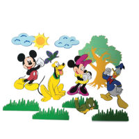 Disney Mickey Mouse Character Foam DŽcor Set