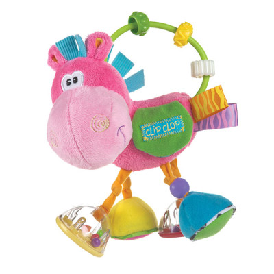 "Playgro Clopette Activity Rattle ""Pink"""