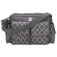 "Ryco Willow Diaper Bag ""Grey"""