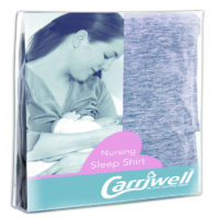 "Carriwell Sarah Sleep Shirt 3/4 Sleeve Large/X-Large ""Blue"""