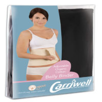 "Carriwell Belly Binder Large/X-Large ""Black"""