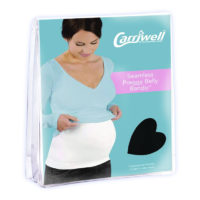 "Carriwell Seamless Preggy Belly Bandy Size 1 ""Black"""