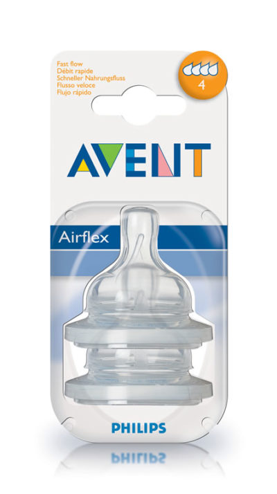 Avent Silicone Teat 6m