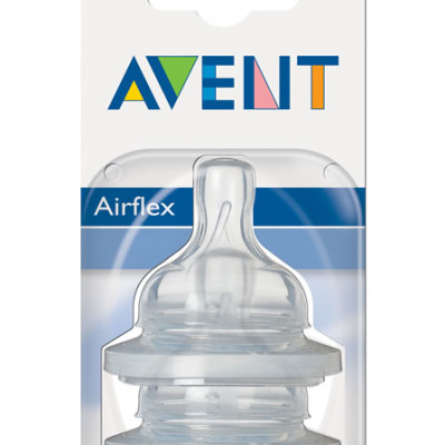 Avent Silicone Teat 3m
