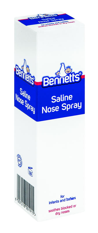 Bennetts Saline Nose Spray 30ml