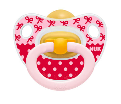 Nuk Latex Fun Soother Size 3 - Bow