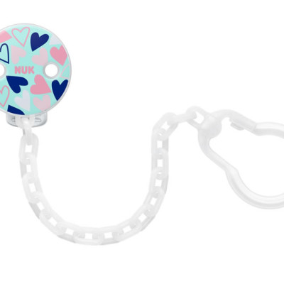 Nuk Soother Chain - Hearts