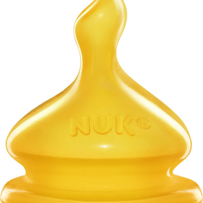 Nuk First Choice Latex Vented Teat Medium Hole Size 2