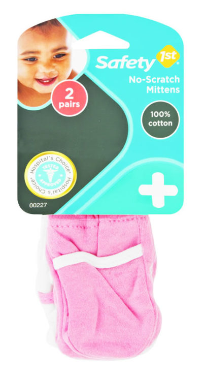 Safety First Hospital's Choice No Scratch Mittens