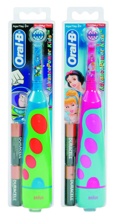 Oral B D2 Battery Operated Toothbrush