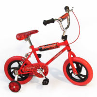 12 inch BMX for boys - Red