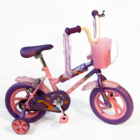 12 inch BMX for girls - Purple