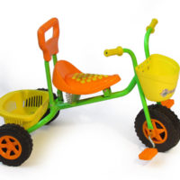 Basket trike - Orange