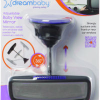Dream Baby Adjustable Deluxe Baby View Mirror