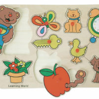 Snookums Wooden Puzzle Bear