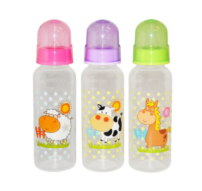 Snookums 250ml Bottle with Silicone Cross Cut Teat 3 Pack