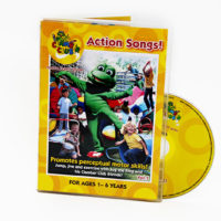 Clamber Club Action Songs DVD