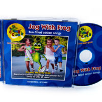 Clamber Club Jog The Frog CD