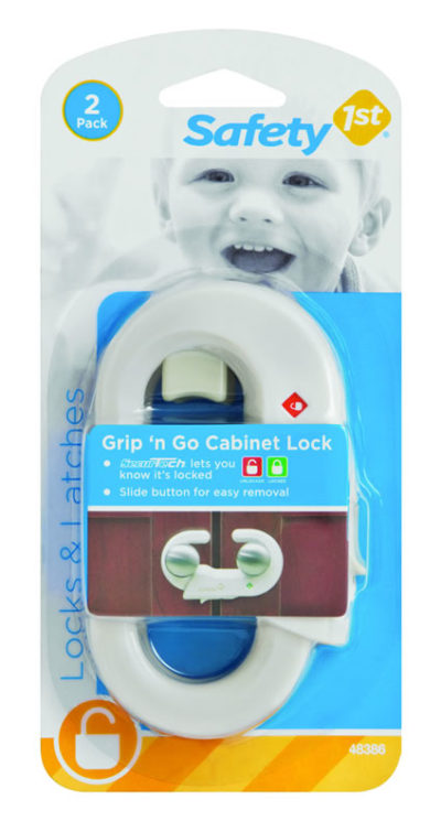 Safety First Grip 'n Go Cabinet Lock 2 Pack