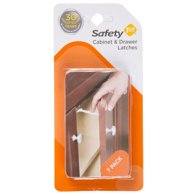 Safety First Wide Grip Latches 7 Pack
