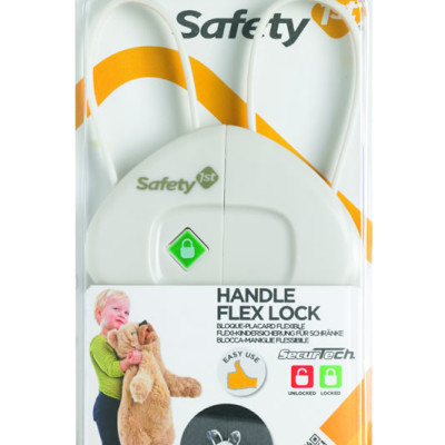 "Safety First Handle Flexi Lock ""White"""