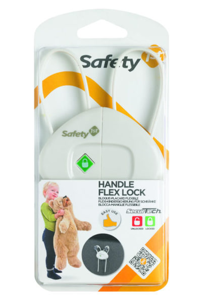 """Safety First Handle Flexi Lock """"White"""""""