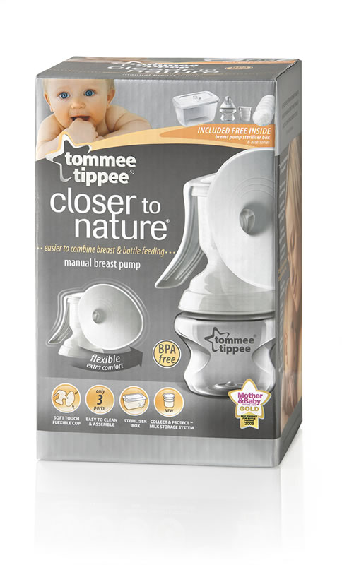 tommee tippee electric breast pump manual