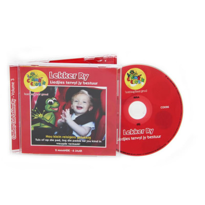 Clamber Club Lekker Ry CD