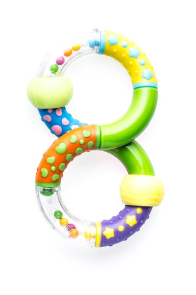 Snookums Twist Ring Rattle