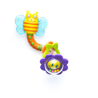 Snookums Bee Twist Rattle