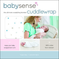 "Baby Sense Mari Cuddle Wrap ""Blue"""