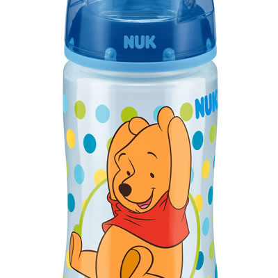 Nuk First Choice Disney Bottle Silicone Teat Size 1 300ml - Blue
