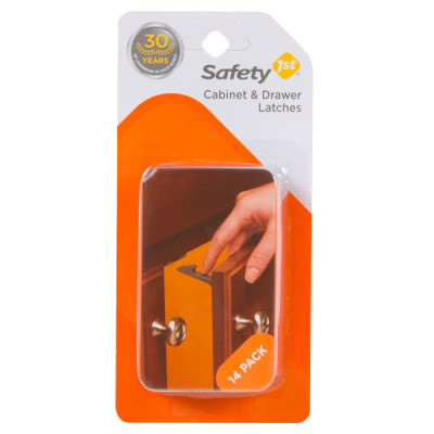 Safety First Wide Grip Latches 14 Pack