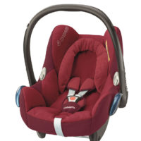 "Maxi Cosi Cabriofix Car Seat ""Red"""