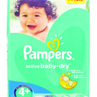 Pampers Active Baby Maxi+ Giant Pack 70's
