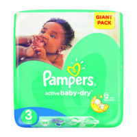 Pampers Active Baby Midi Giant Pack 94's