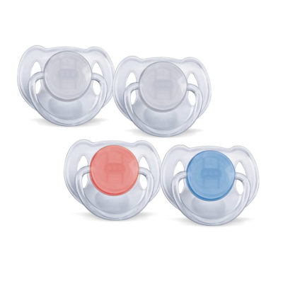 Avent Translucent Soother 6-18m 2 Pack