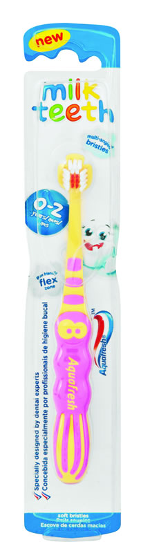 Milk teeth tooth brush
