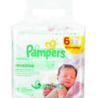 Pampers Sensitive Wiprs 6x56's