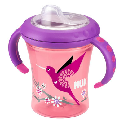 Nuk Easy Learning Starter Cup Size 1 - Pink Bird