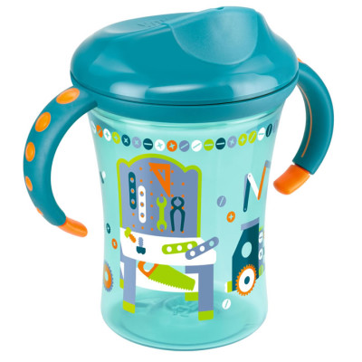 Nuk Easy Learning Training Cup Size 2 - Green Dino