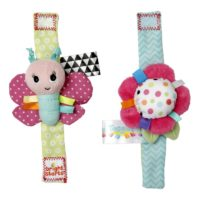 Bright Starts Pretty in Pink Rattle Me