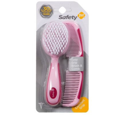 "Safety First Gentlecare Brush/Comb ""Pink"""