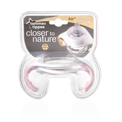 Tommee Tippee Closer to Nature BOTTLE HANDLES - Pink