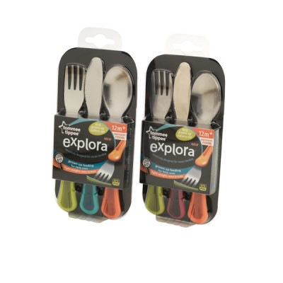 Tommee Tippee Explora Toddler Cutlery Set